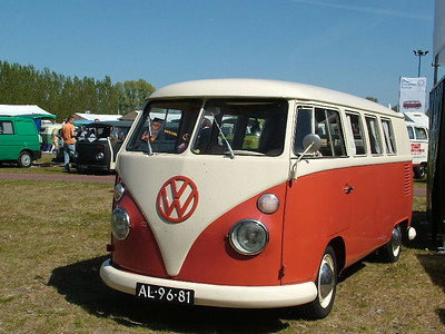 60 years VW transporter Holland 2007