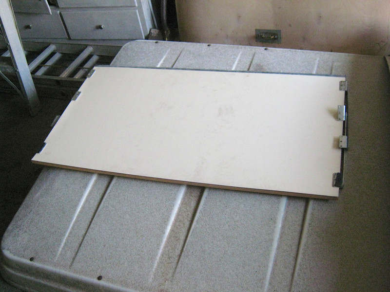 Westfalia upper bed folding base