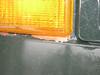 Original 'Brilliant Orange L20B' paint coming through below the front blinker