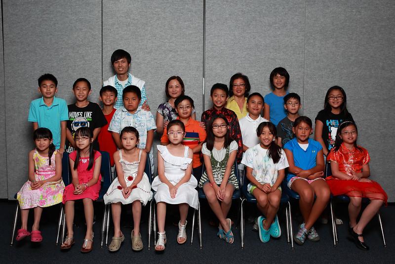 Class 2C - Cô Thu Thủy, cô KD, TA Duy