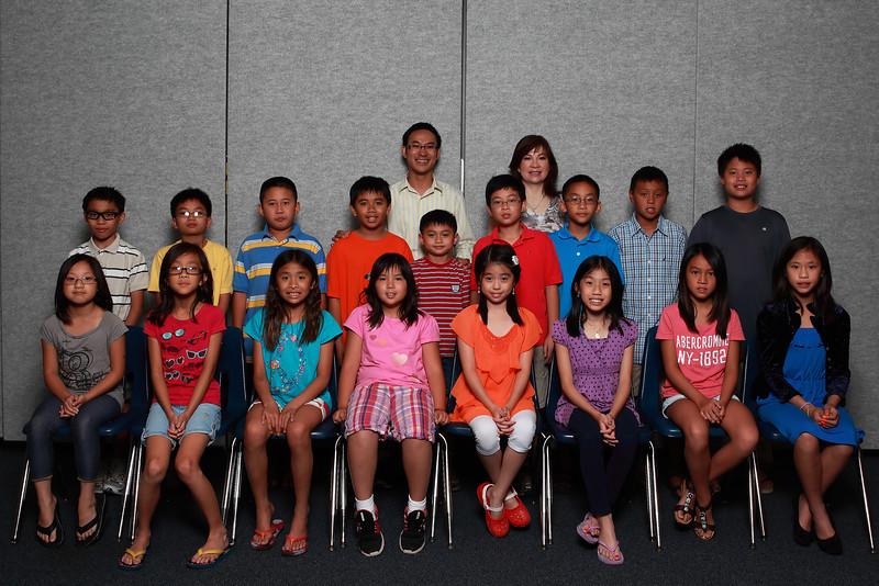 Class 3B - thầy Huân, cô Ngọc Yến