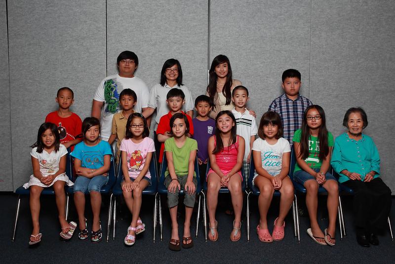 Class 1C, cô Anh Thư, cô Quỳnh Mai, cô Thanh, TA Thomas