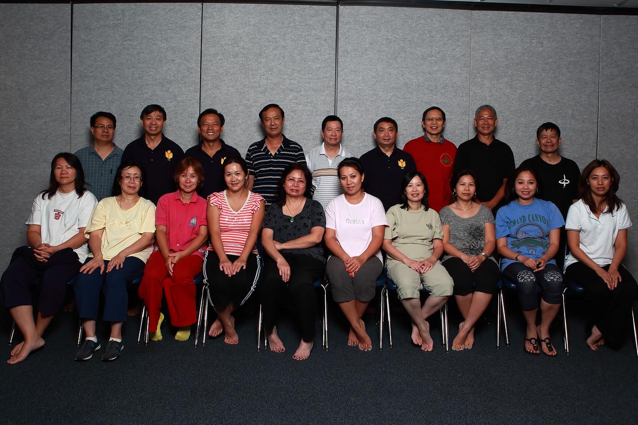Class 10-CK10 thầy Dũng (far right)