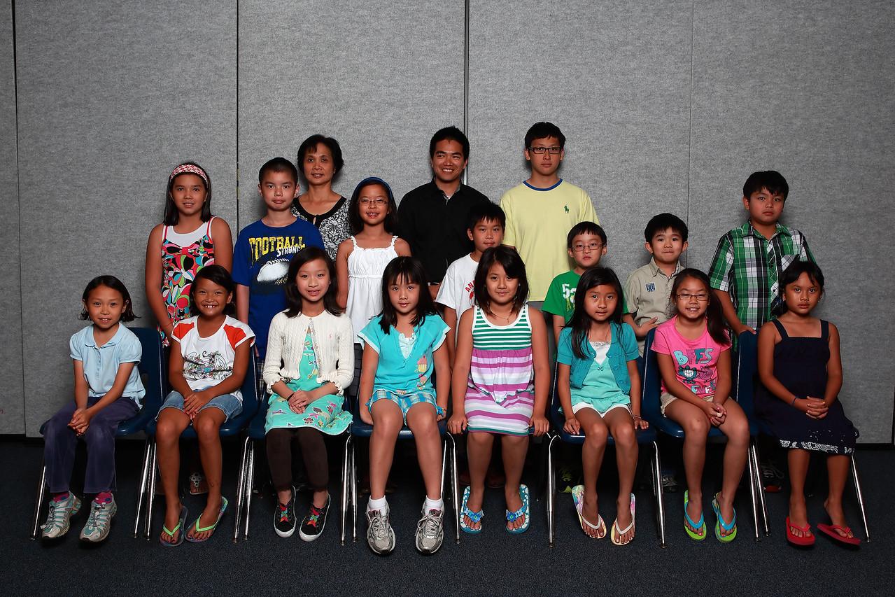 Class 3A - cô Mai Thu, TA KD, TA Tony