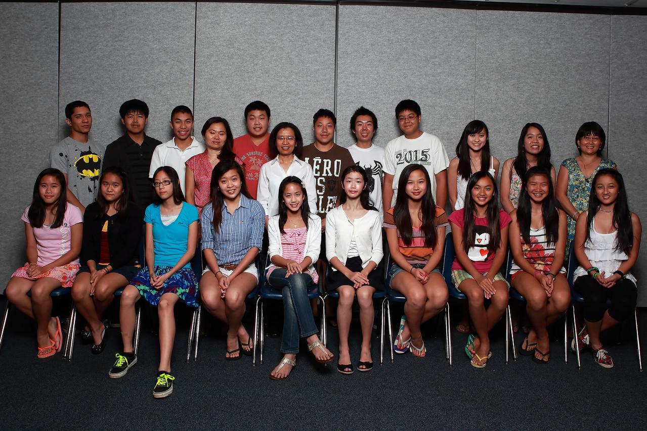 Class 6A - cô KD, cô Kim Nguyệt, cô Tuyền, TA Vinh, TA KD