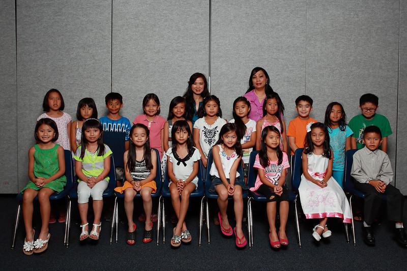 Class 2A - cô Nhất Anh, cô Lisa Phương Thảo