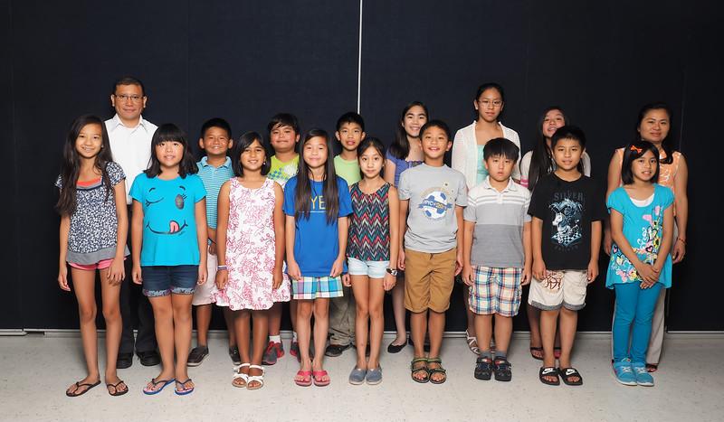 2015 - Lớp 4A<br /> Thầy Sơn<br /> Cô