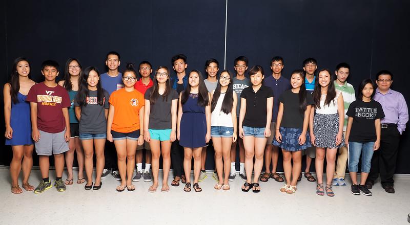 2015 - Lớp SAT<br /> Cô Jessica Phan<br /> Thầy John Cường