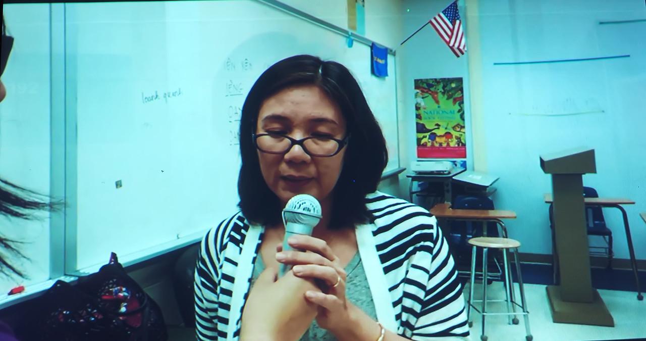 T.A. Video, a rookie teacher