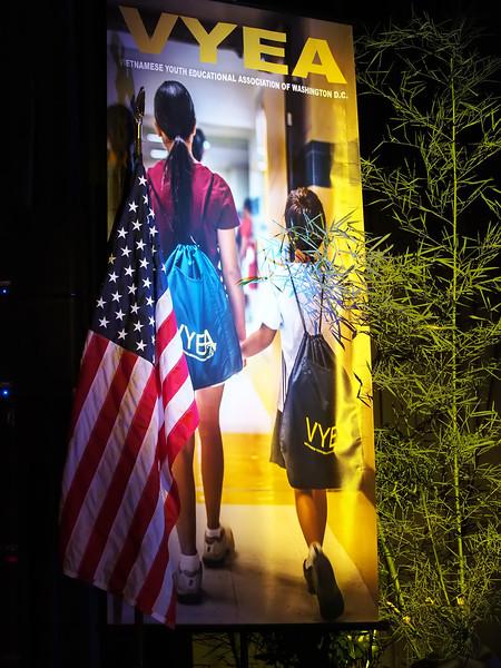 VYEA Banner - on stage of Robert E. Lee High School, Springfield, Virginia. August 5, 2015