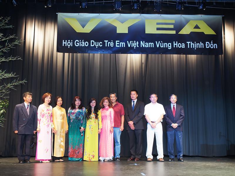 VYEA Board of Directors. Dr. Hoàng VIệt Dzũng, Mrs. Hoàng Lan Hương, Ms. Dương Kim Nguyệt, Ms. Nguyễn Phan Trinh, Ms. Chử Nhất Anh, Ms. Nguyễn Thùy Trâm, Mr. Trường Văn Thuần, Dr. Huỳnh Tường Minh, Mr. Huỳnh Xuân Quang, Mr. Đặng Văn Thành.
