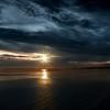 Sunset on Plomodiern