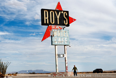 Roy's Motel & Cafe, Amboy CA (USA)