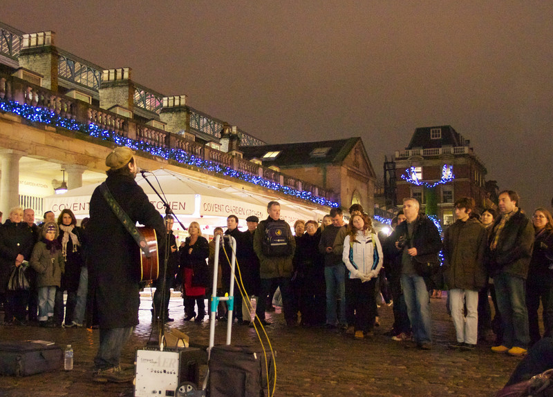 Musician at Covent Garden.