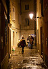 Street in Piran, Slovenia.