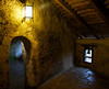 Inside the Predjama castle in Postonja Slovenia.