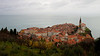 Piran, Slovenia.  Yes, it's as neat as it looks.