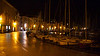 Harbor in Piran, Slovenia