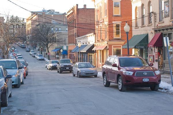 Saratoga street scene