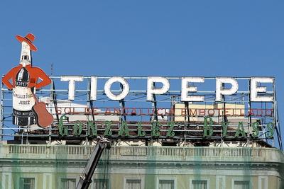 Tio Pepe sign