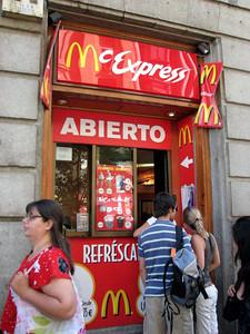 McDonalds Walk through