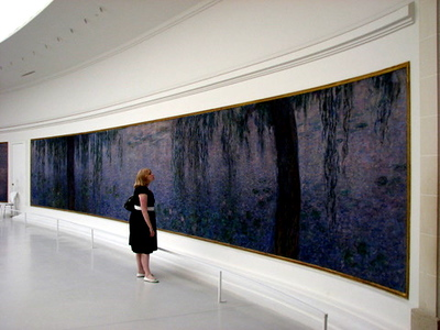 The Orangerie (famous for Claude Monet's Les Nympheas which were inspired by a water garden at his home in Giverny)