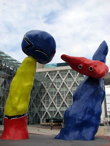 Sculpture at La Defense