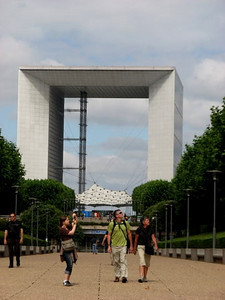 The Grand Arche at La Defense