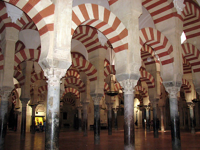 Mezquita interior - once a Mosque, converted to church