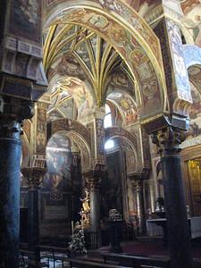 Interior of Mezquita in Cordoba