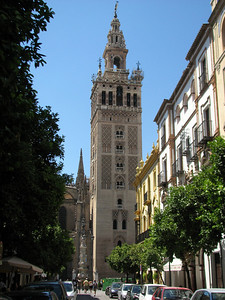 Seville's Cathedral's Bell tower, once a minaret, has a ramp instead of stairs so a horse could be riden to the top
