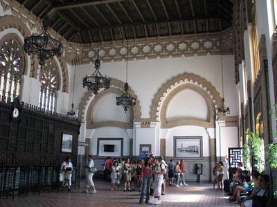 Inside Toledo's train station