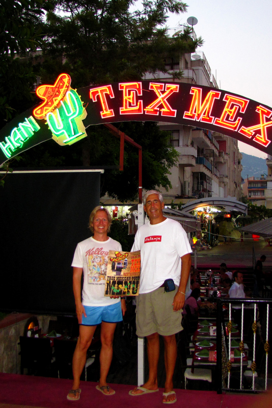 No one actually believes we are really from Texas - They think we are English (all English speakers must sound alike).