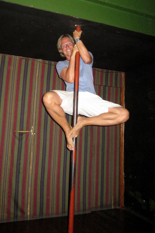 Pole dancing to pay for trip