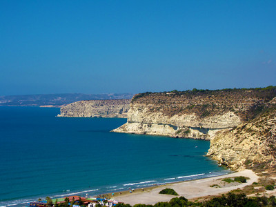 Beach at Ancient Kourion