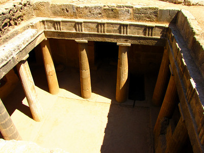 """Tombs of Kings"" 3rd century BC, Pafos"