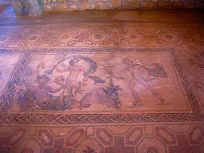 Mosaics from 2nd century AD, the House of Dionysos, Pafos