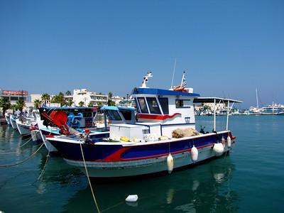 Kos fishing boats