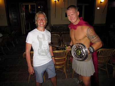 Getting Impaled by a Norwegian on the island of Kos