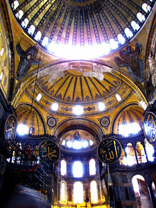 Hagia Sophia -Converted to a mosque in 1453 when the Ottoman's took Constantinople