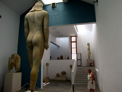 The Kourol from 560BC stands 5m high