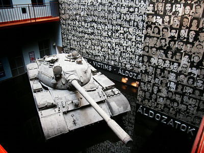 The Museum of Terror - chronicles the era under Communist and Nazi occupation
