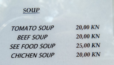 See Food and Chichen Soup are two of my Favorites!
