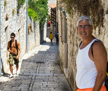 Cobblestone streets of old town