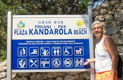 FKK - is the nudist beach.  They are very popular in Croatia
