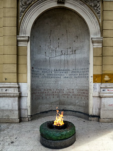 Eternal flame for all the fighters