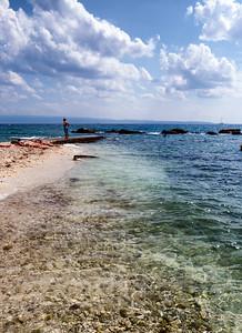 Beach area of Split