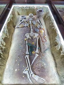 Ancient grave remains