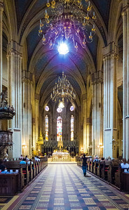 Inside the Zagreb Cathedral