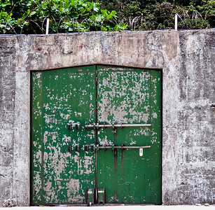 Old Prison Doors